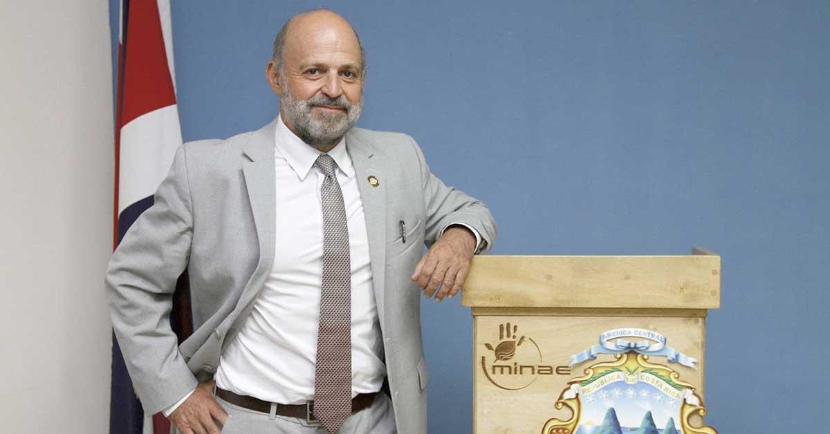 Rodríguez Echandi fue elegido para liderar el Fondo Mundial para el Medio Ambiente