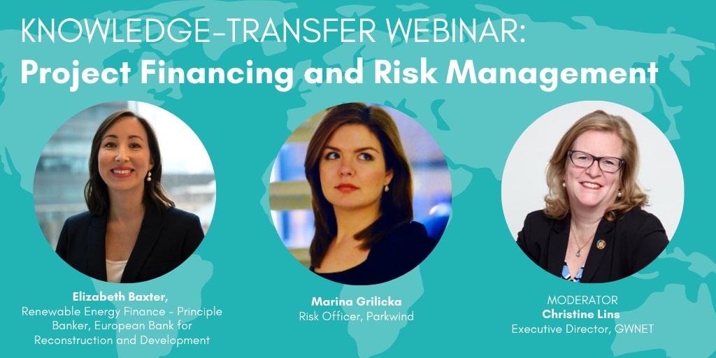 GWEC Webinar de transferencia de conocimientos: Financiación de proyectos y gestión de riesgos