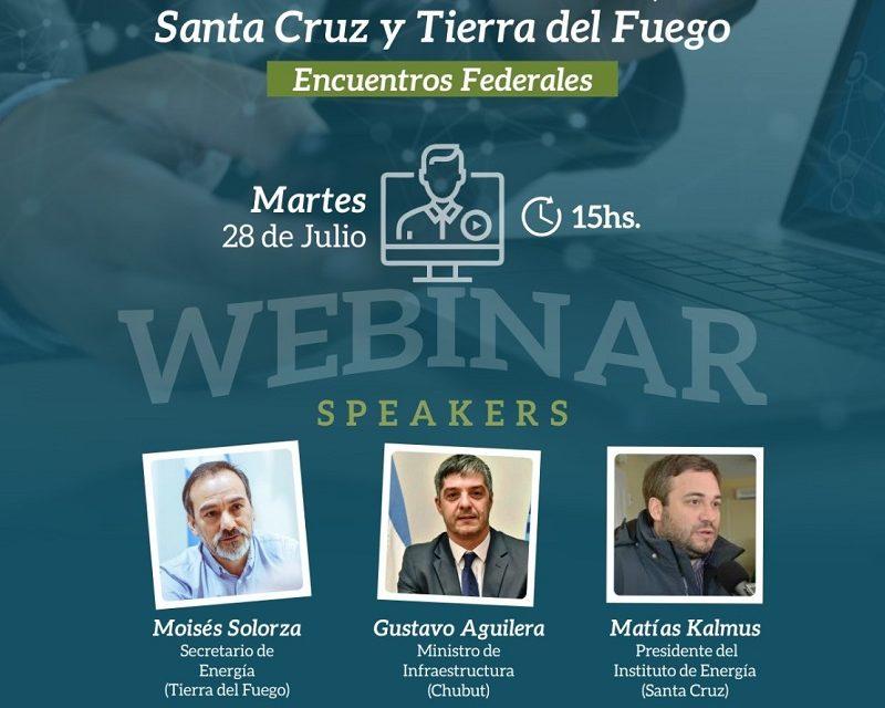 Mañana es el Webinar de CADER sobre energías renovables en Santa Cruz, Chubut y Tierra del Fuego
