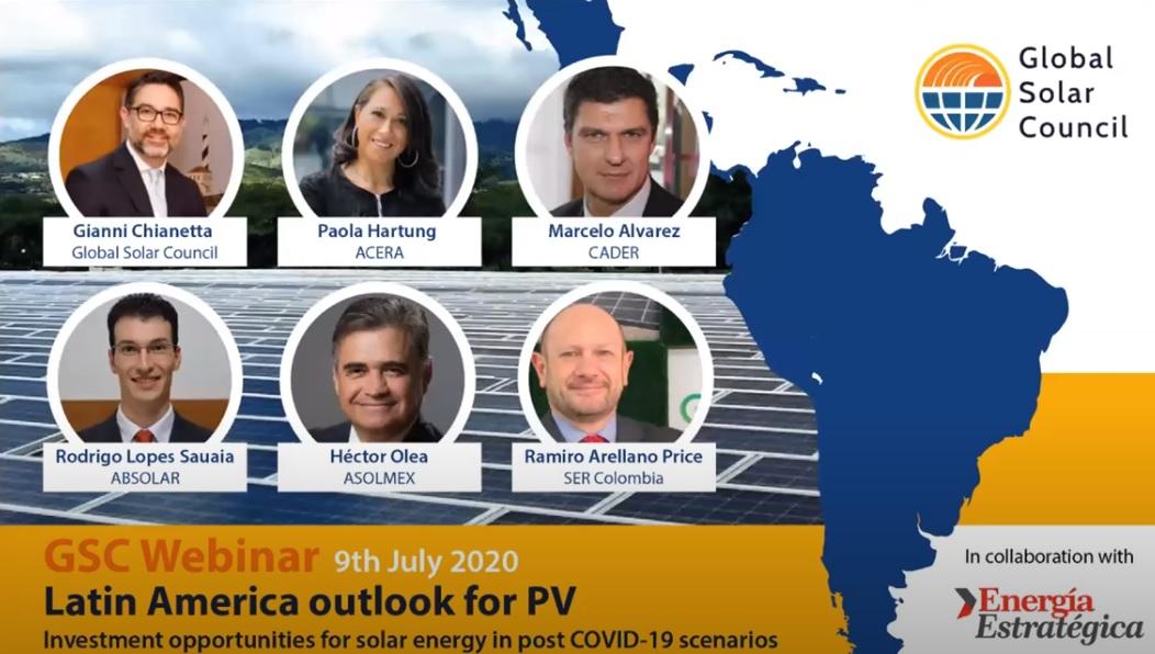 Global Solar Council: El mejor video en inglés sobre oportunidades de la fotovoltaica en Latinoamérica