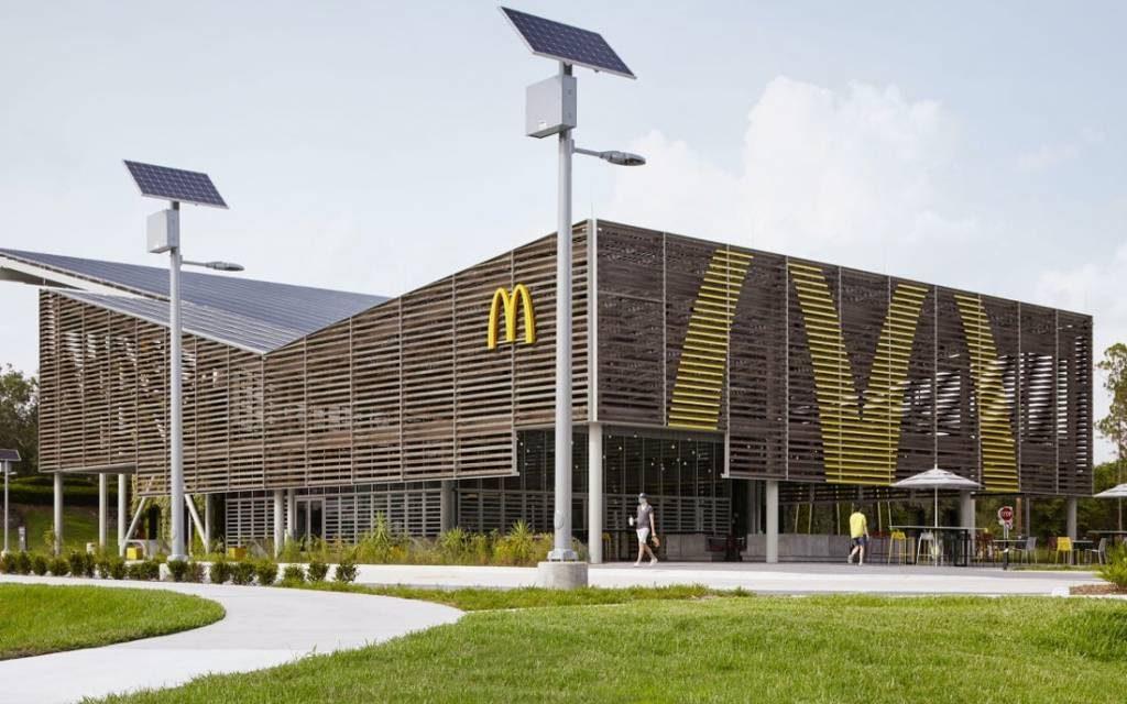 McDonald's abre un local que funciona 100% con energía solar