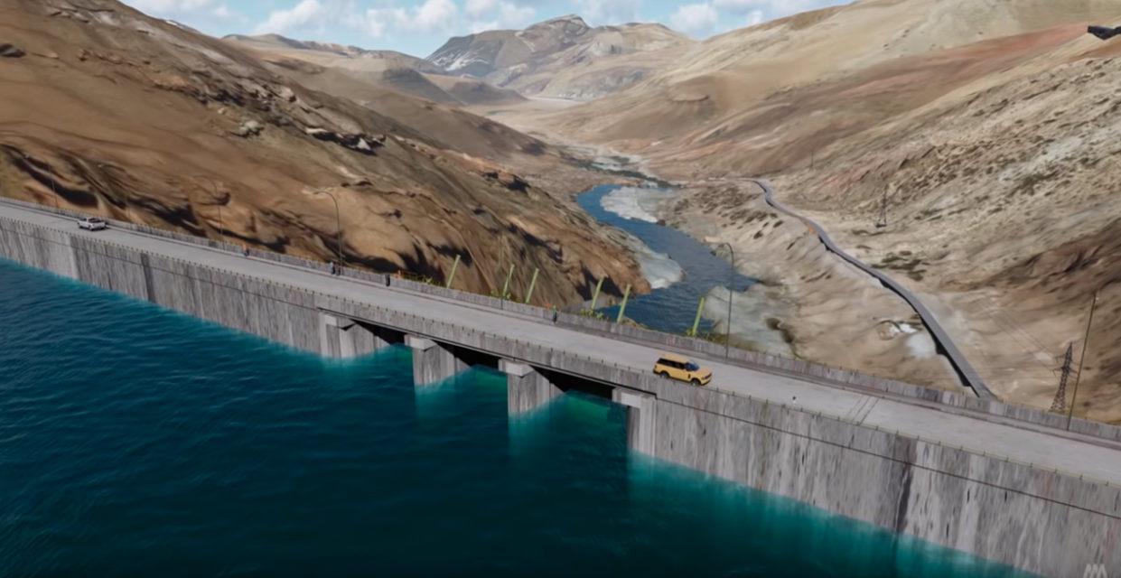 Mendoza recibe la cuarta cuota para la construcción de la mega represa Portezuelo del Viento