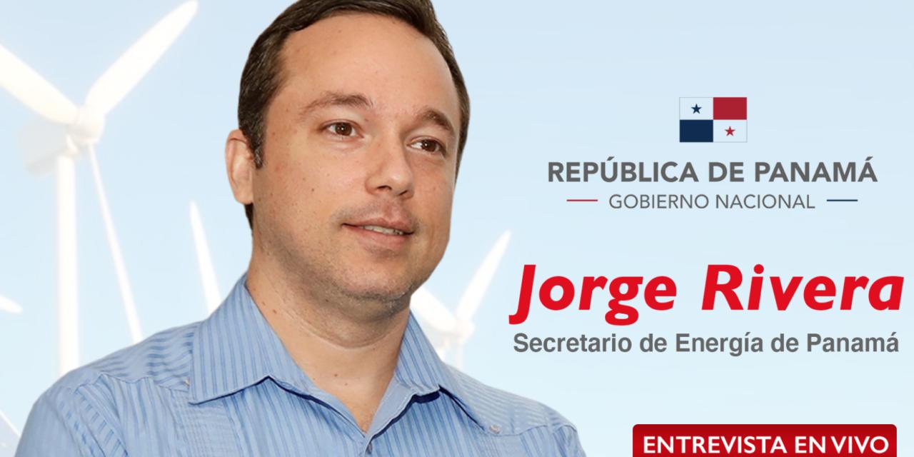Inscripción a la entrevista con Jorge Rivera para conocer nuevos proyectos de energías renovables en Panamá