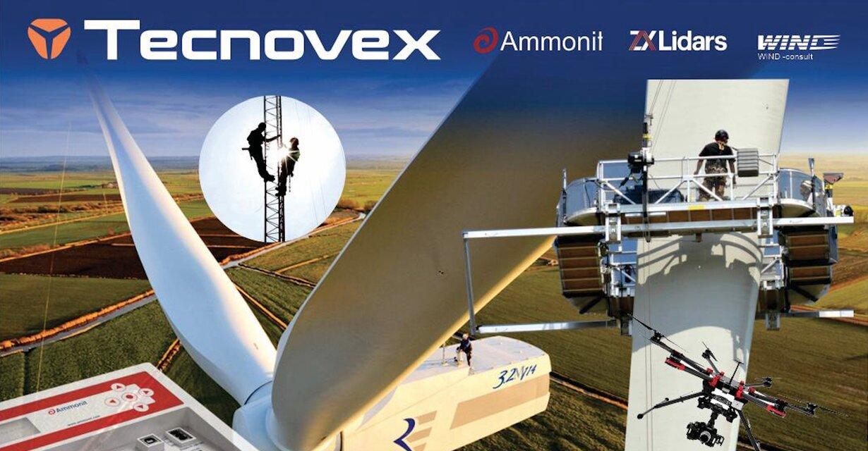 Tecnovex lanza en Brasil la propuesta de servicios más completa para la industria eólica