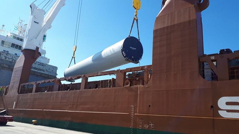 GRI Calviño anuncia exportación de 100 tramos de torres de energía eólica para Vestas