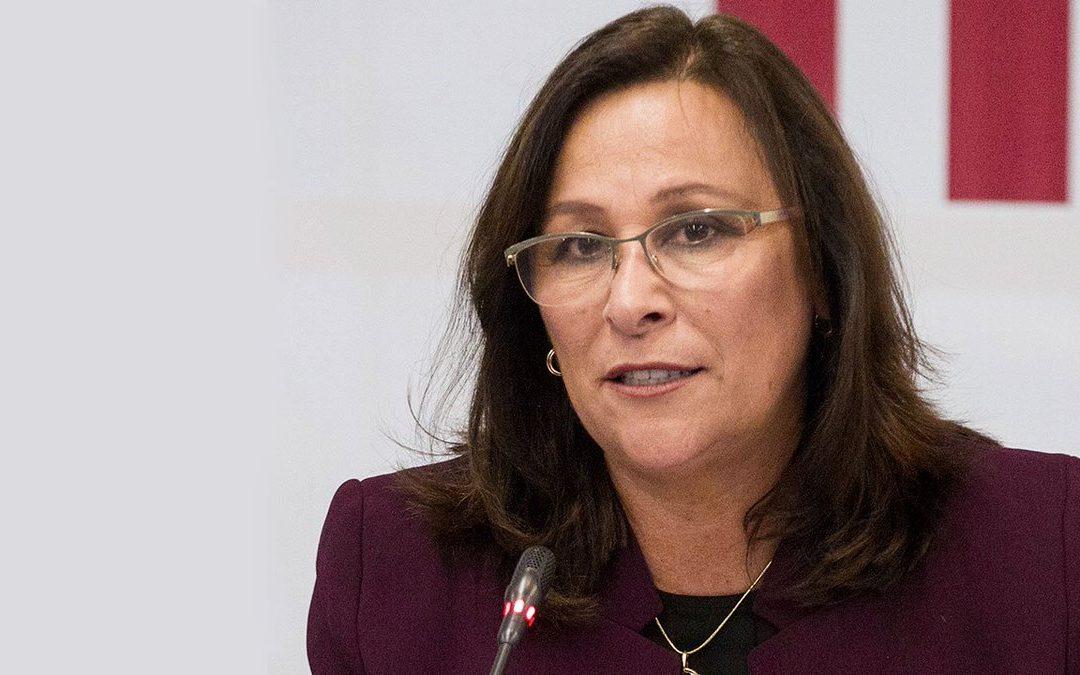 Rocío Nahle dio positivo a prueba de COVID-19