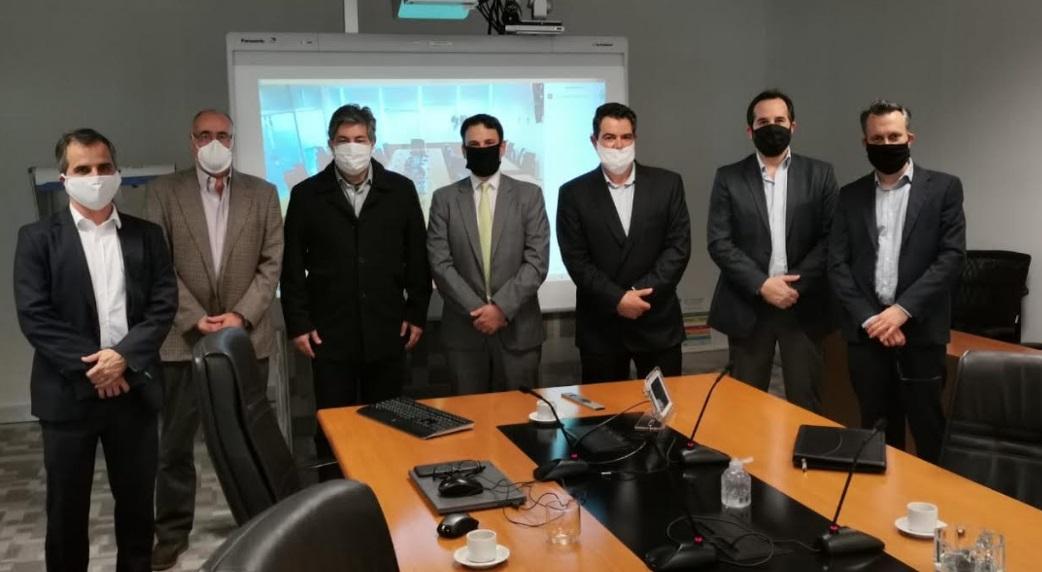 Generadores de Argentina se reunieron con Lanziani y autoridades del sector energético