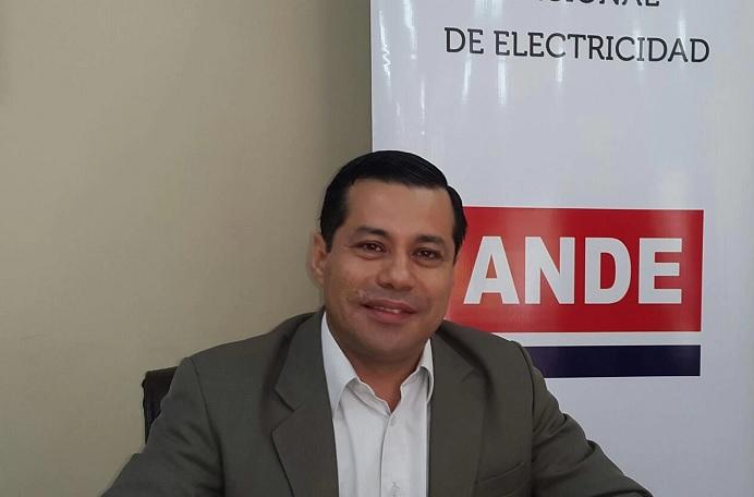 Félix Sosa es el nuevo titular de la Administración Nacional de Electricidad de Paraguay