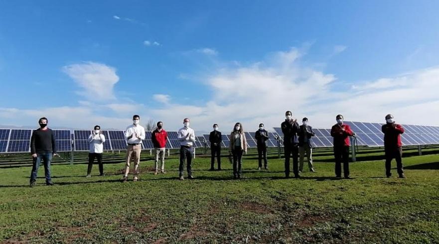 Jobet inauguró parque fotovoltaico y lanzó el comité de actualización de la Política Energética
