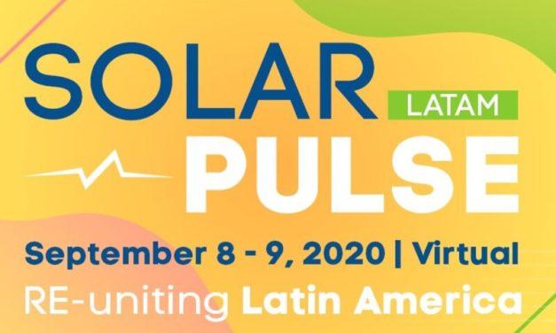 El martes comienza «Solar Pulse Latam» con panelistas de alto nivel sobre energías renovables