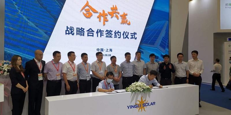 En un evento internacional Yingli cerró nuevos acuerdos comerciales