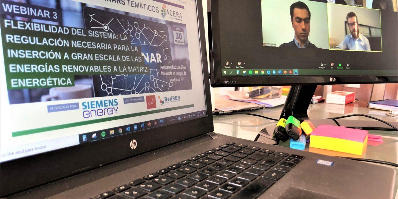 Chile debate sobre la flexibilidad del sistema ante la incorporación masiva de renovables intermitentes