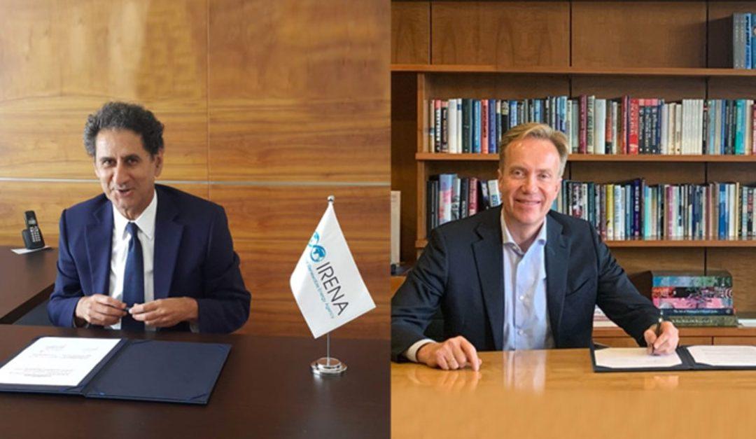 Foro Económico Mundial e IRENA se unen para impulsar energías renovables a nivel global