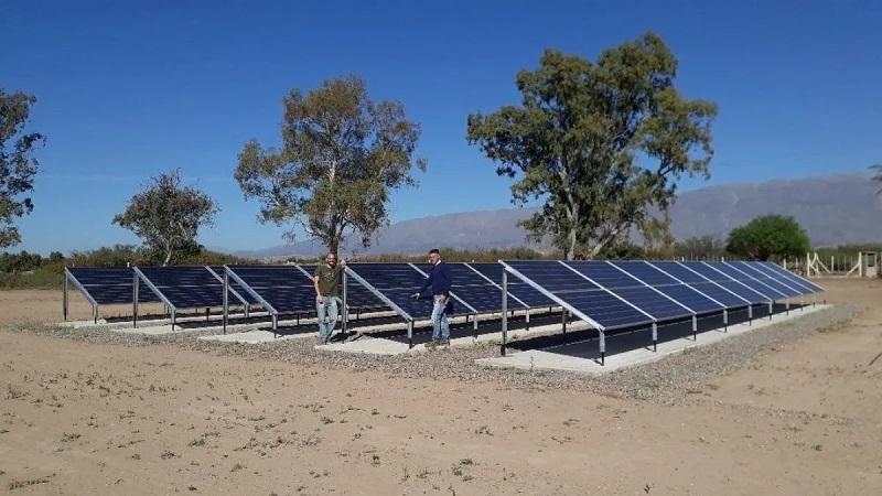 La Rioja afina un marco regulatorio para estimular instalaciones por 80 MW para bombeo solar