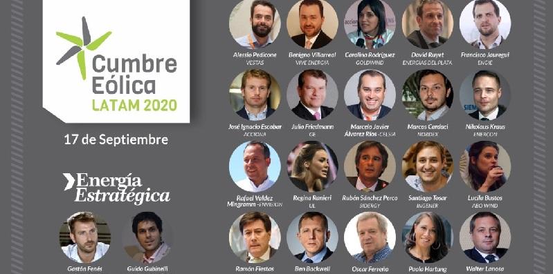 Más de 4000 personas siguieron en vivo la «Cumbre Eólica Latam 2020»: un resumen con las frases de los protagonistas