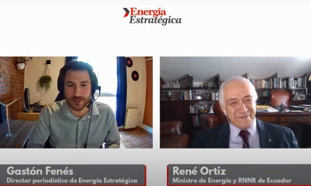 Una hora de conversación con René Ortiz sobre la subasta de 200 MW de energías renovables en Ecuador