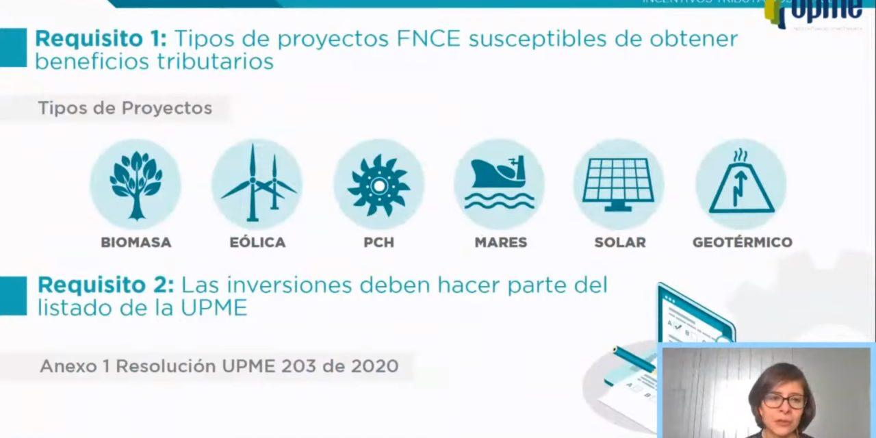 Paso a paso, cómo se obtienen los beneficios tributarios de la UPME para proyectos renovables