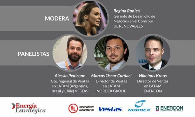 Hoy! Vestas, Nordex, Enercon y UL debatirán en la «Cumbre Eólica Latam 2020»