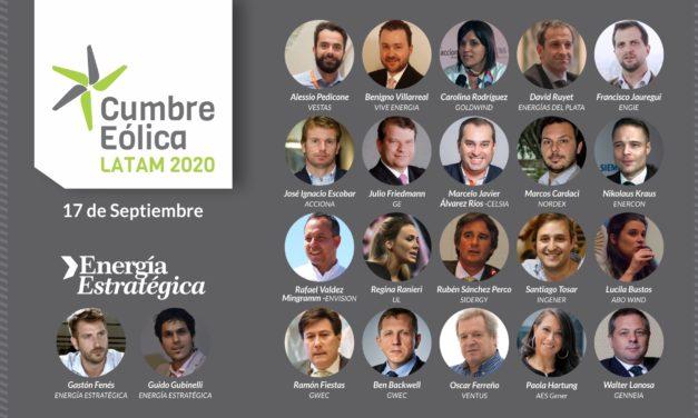 Hoy! Gran expectativa por la «Cumbre Eólica Latam 2020» que reúne a los principales players del sector