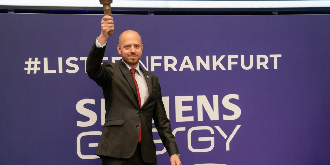 Debut en la bolsa: Siemens Energy cotiza 16.000 millones de euros