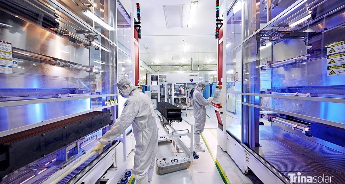 Serie Vertex de más de 600 Watts de Trina Solar primera con certificaciones IEC de seguridad a nivel mundial