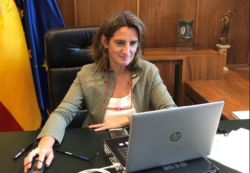 Teresa Ribera dio señales optimistas en el mayor evento fotovoltaico de España organizado por UNEF