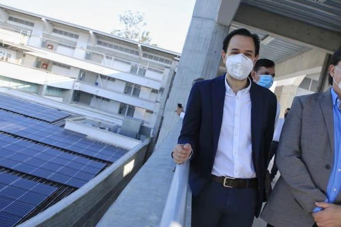 El ministro Mesa inauguró cinco nuevos proyectos de energía solar fotovoltaica