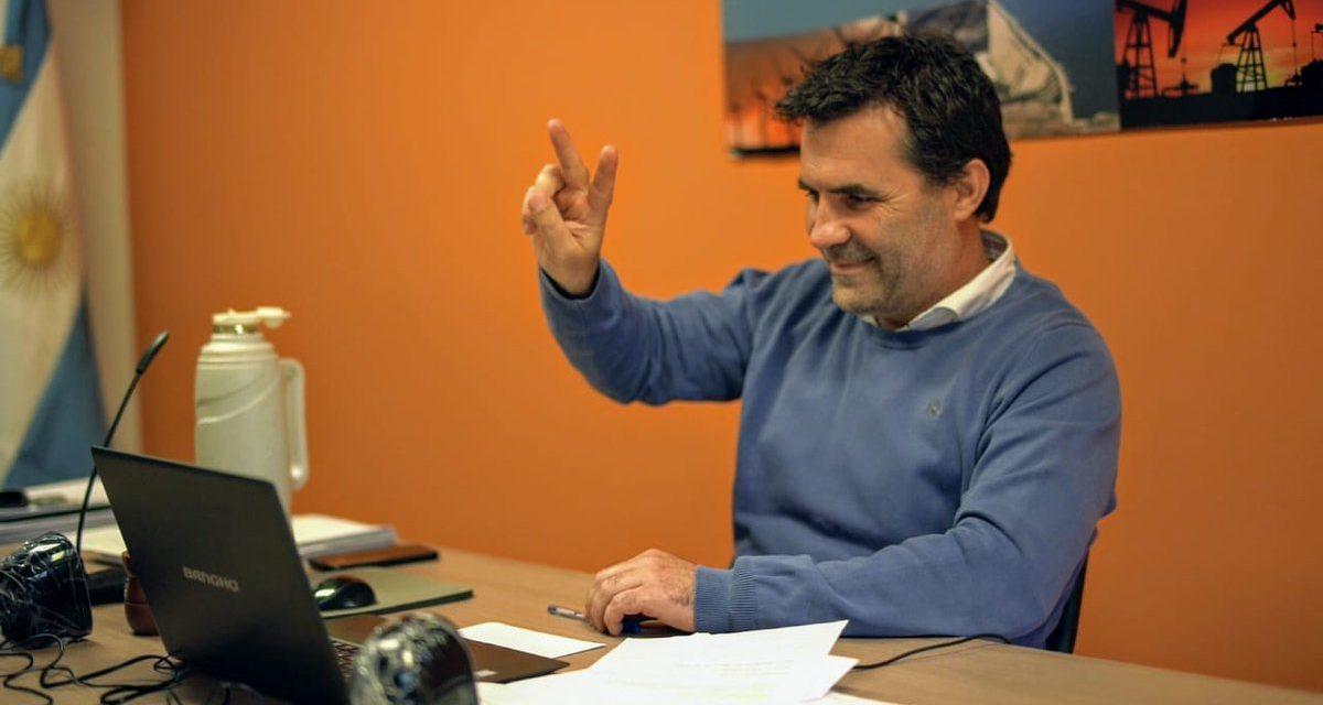 El primer gesto de Darío Martínez para el sector de las energías renovables