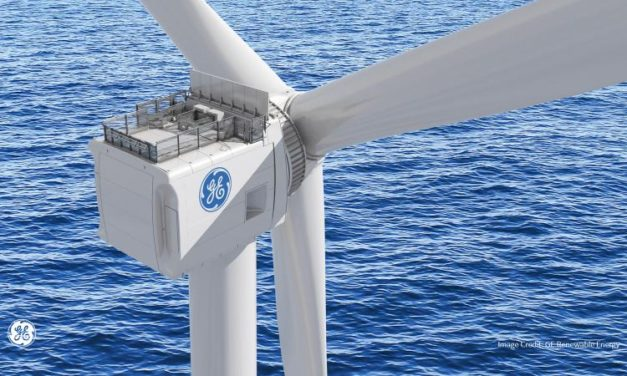 El prototipo del aerogenerador Haliade-X de General Electric opera a 13 MW