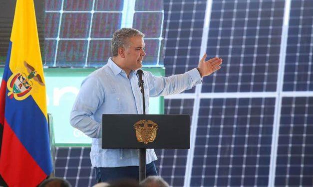 Colombia lanzará una nueva subasta de renovables durante el primer trimestre del 2021