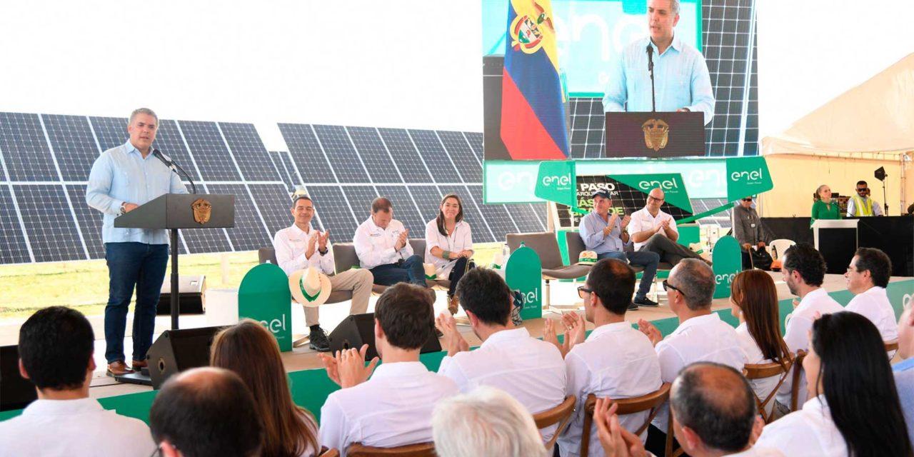 Matriz Renewables y GreenYellow inauguran tres parques solares en Colombia por 67 MW