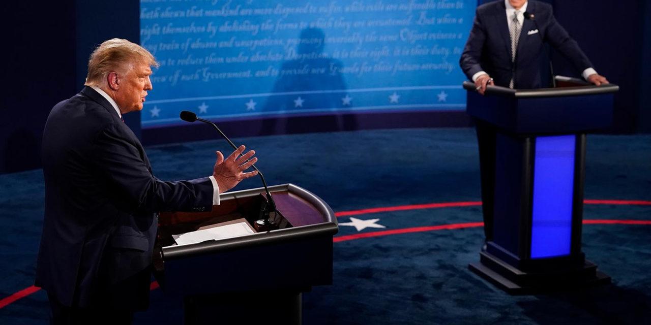 En el debate, Trump apuntó que la energía eólica «mata a todos los pájaros» y Biden defiende renovables