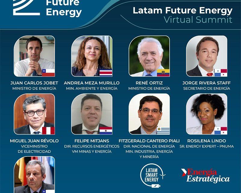Abierta inscripción gratuita: CEOs y Ministros se reúnen en «Latam Future Energy»