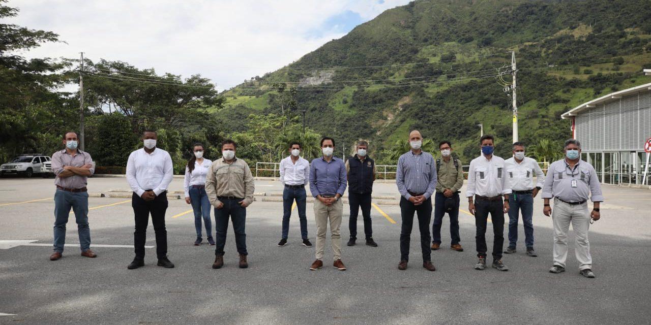 Tras recibir a funcionarios nacionales EPM confía la puesta en marcha de Hidroituango en 2022