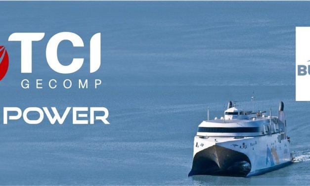 TCI Gecomp analizará potencial del hidrógeno a un famoso barco con recorrido diario entre Argentina y Uruguay
