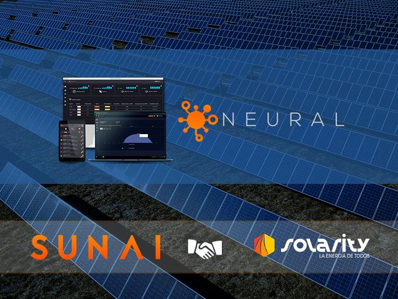 Sunai y Solarity refuerzan su alianza comercial para el monitoreo de parques solares