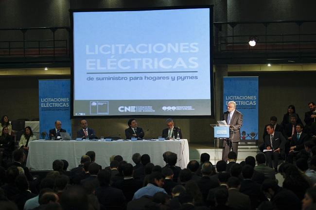 El Gobierno de Chile licitará más de 2.300 GWh renovables para el 2021
