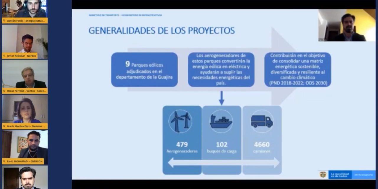 Puertos y carreteras: El Gobierno agiliza trámites e infraestructura logística para montar parques eólicos de La Guajira