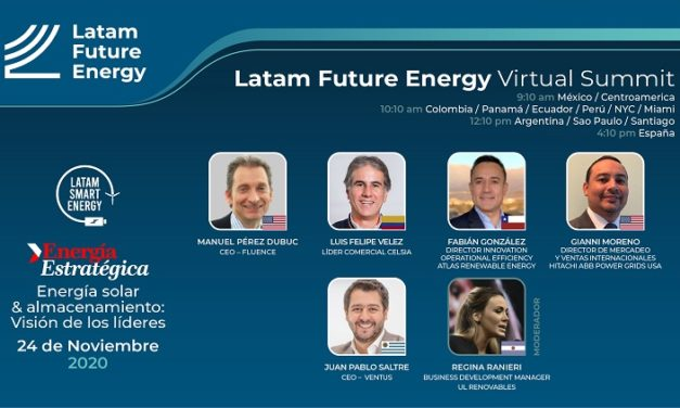 Ventus, Hitachi ABB Power Grids, Fluence, Celsia y Atlas Renewable Energy analizarán sector fotovoltaico en Latam Future Energy