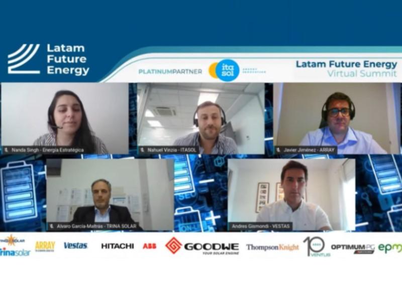 Array, Itasol, Trina y Vestas debaten sobre exigencias de contenido local para renovables