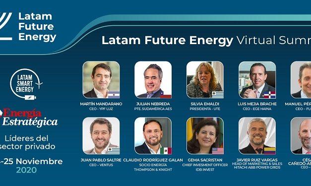 Última semana de inscripción al evento sobre energía sostenible más convocante del año: «Latam Future Energy»