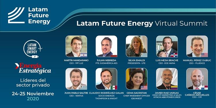 Estamos en vivo! Ahora en «Latam Future Energy», el gran encuentro de la energía sostenible