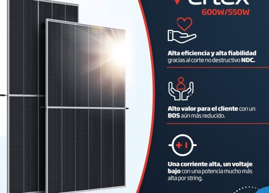 Trina Solar solicita a DNV GL evaluación de sus módulos bifaciales Vertex de más de 600 Watts