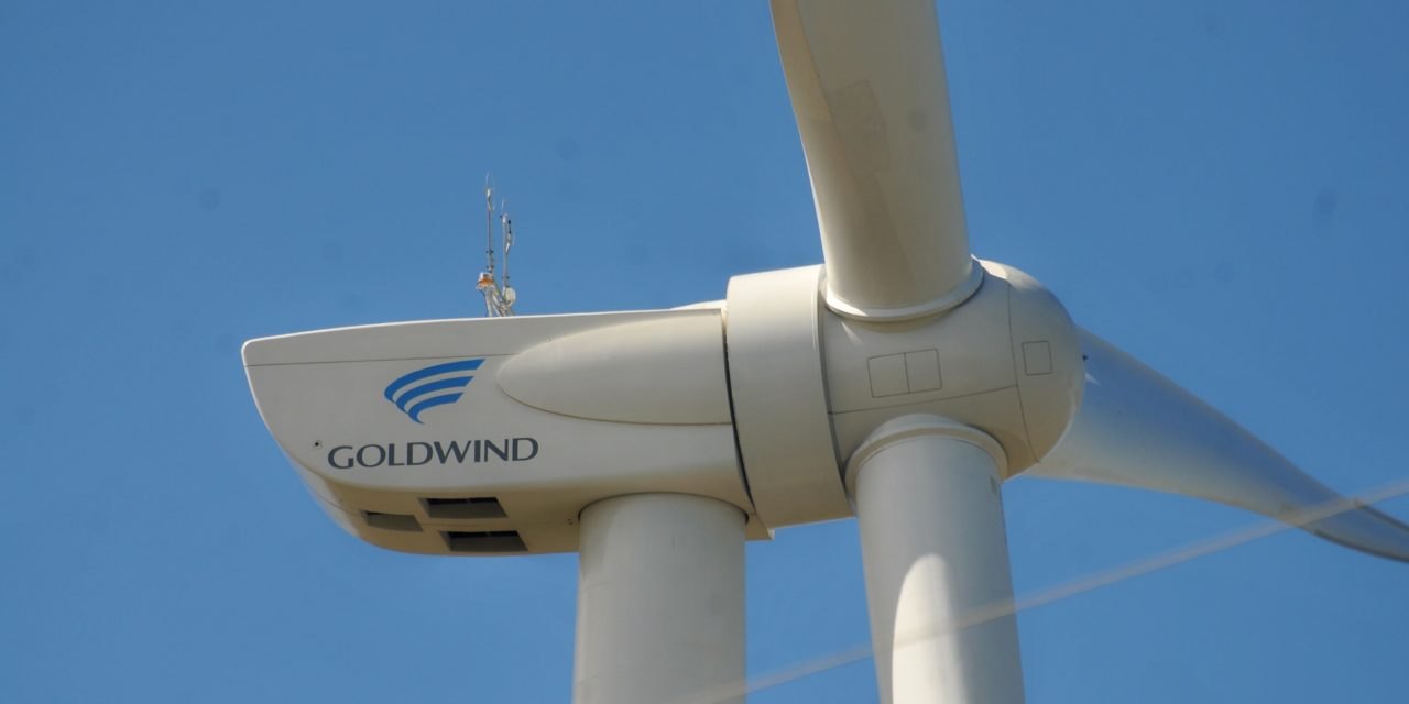 Goldwind pondrá en funcionamiento sus 5 parques eólicos de Argentina en los próximos 2 meses