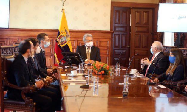 El presidente Lenín Moreno se reunió con Solarpark por los proyectos de energías renovables en Ecuador