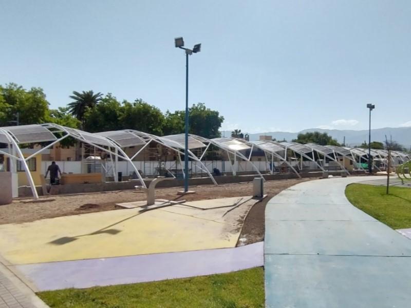 Energe y Municipalidad de Godoy Cruz inauguran Estación de carga Solar en Parque Mitre, Mendoza