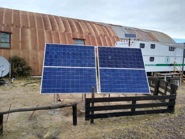 Instalan energías renovables en los Parques Nacionales de Argentina