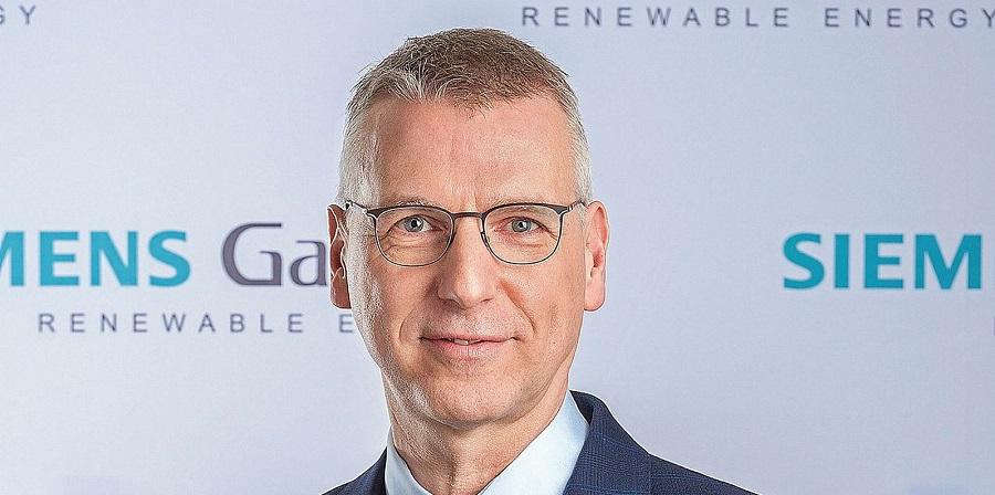 Andreas Nauen, CEO de Siemens Gamesa, será el nuevo presidente de WindEurope