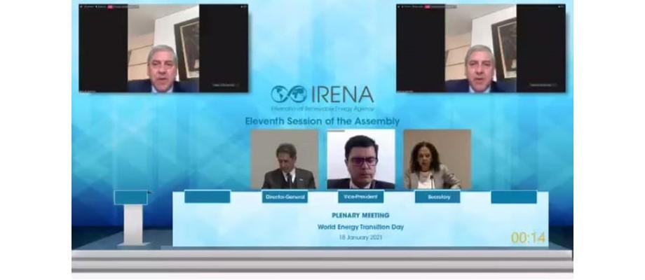 Colombia fue elegido miembro principal del Consejo de la Agencia Internacional de Energías Renovables