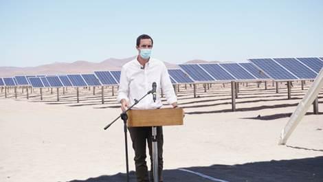 Enami es la primera minera de Chile en utilizar 100% energías limpias